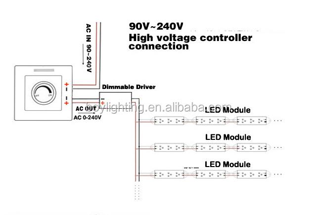 100  led light dimmer led dimmer 220v switch for led