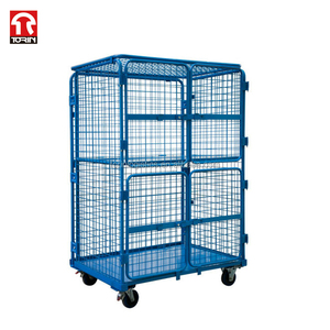 Durable Warehouse Folding Hand Trolley Reasonable Prices