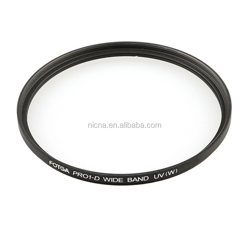FOTGA 58mm Vidro PRO1-D Digital Super Slim Protector Lens Filtro UV Ultra Violet