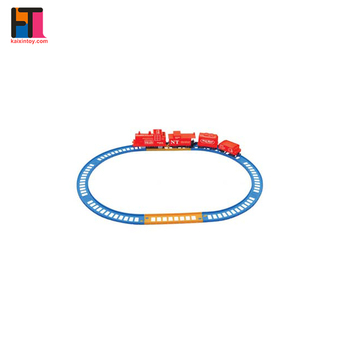 plastic classical b/o model slot toy rail train set