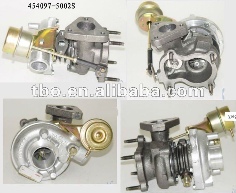 Turbocharger gt1544S 454097-5002S 028145702