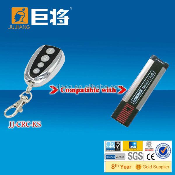 Rf 868 mhz t l commande pour sommer face face copy pour porte de garage jj rc ks t l commande - Sommer telecommande porte garage ...