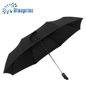 Full auto open promotional portable umbrella jain gift