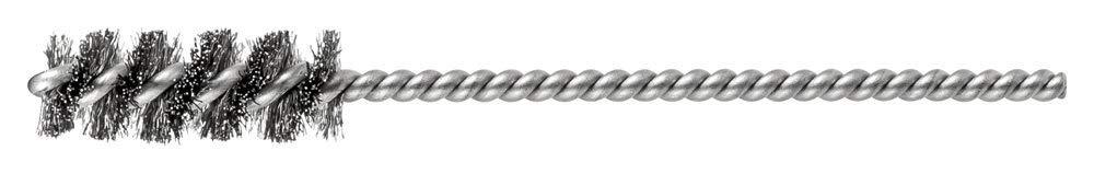 """PFERD 83389 SpyraKleen Tube Brush, Single Stem/Spiral, .005"""", Stainless Steel Wire (INOX), 3/8"""" Diameter, 5/32"""" Stem, 1"""" Brush Part Length (Pack of 36)"""