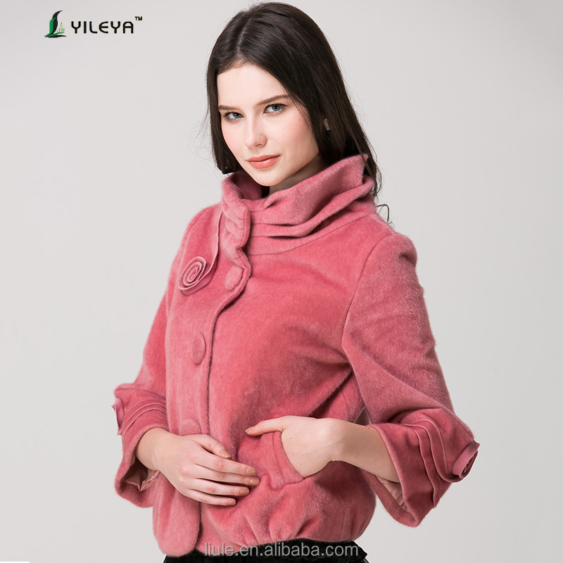 2014 latest design plus size fashion winter coat for woman