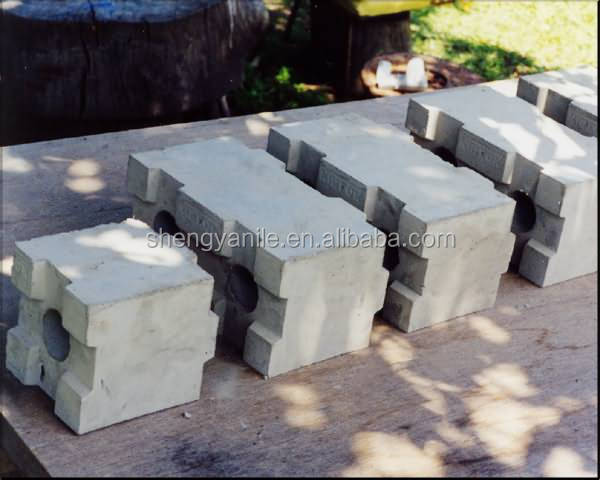 Clc Interlocking Block Mold Machine Lightweight Concrete