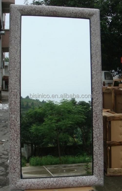 Diseño Llano Rectángulo Marco Gran Longitud Espejo De Pared Colgante ...