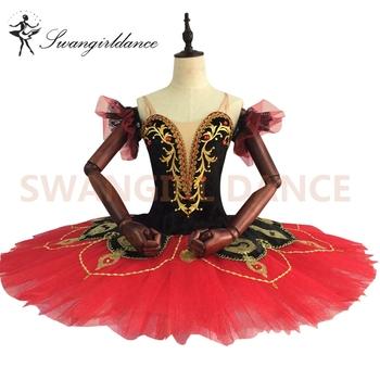 4b035ba58017 Red And Black Swan Lake Black Girl Puffy Ruffles Ballet Tutu Skirt For  Adult Women - Buy Black Girl Puffy Tutu