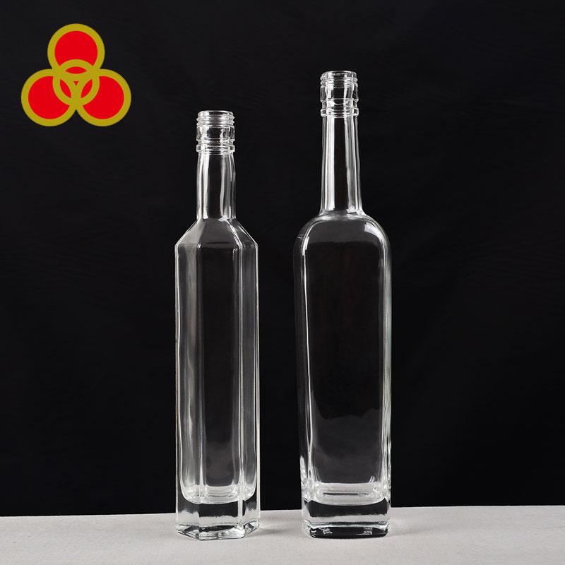 Frosted decoration extra flint empty grey goose vodka bottle 750ml