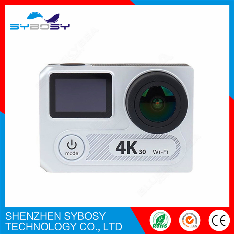 EKEN H8 plus Ultra HD 4K/30fps 1080p/120fps wifi Action Camera Ambarella A12 chip Dual Screen go Pro yi match camera accessories