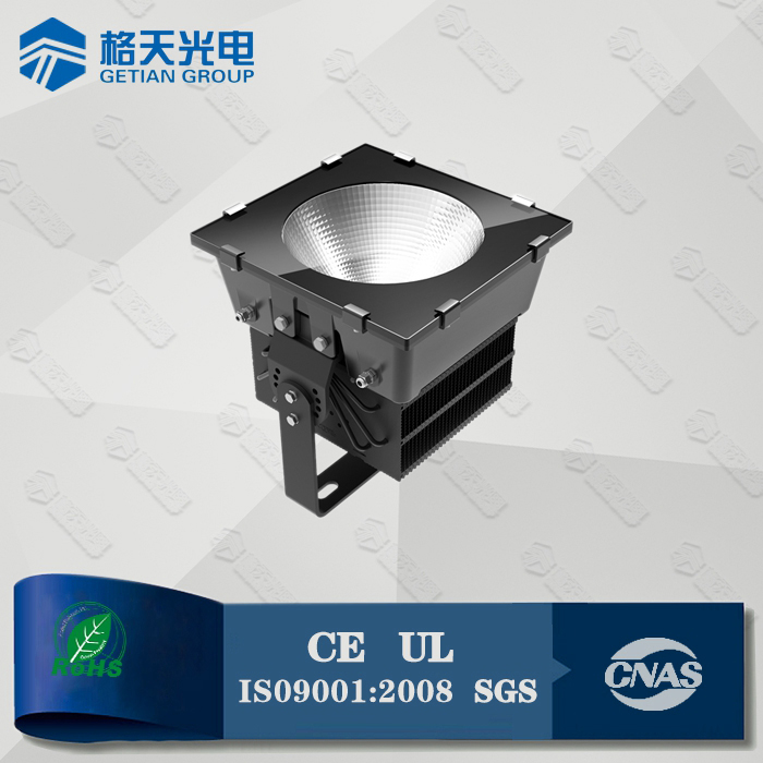 Sport ground applied LM80 passed original led 98lmw 500W flood light projector IP65