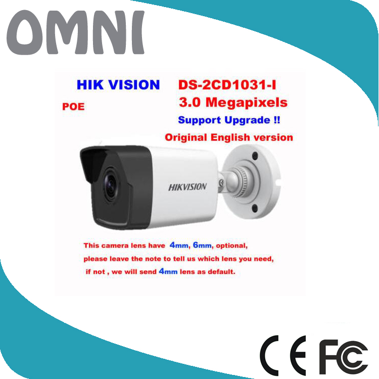 DS-2CD1031-I 2017 New Arrival Hikvision Bullet Outdoor Surveillance CCTV Camera