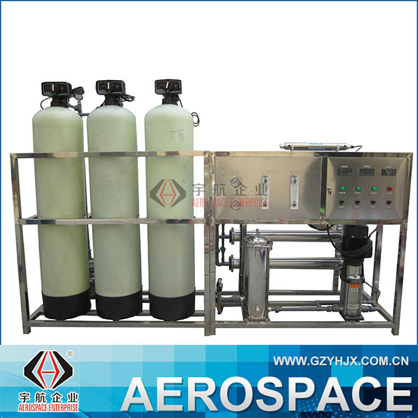 One Grade PVC/Fiber Glass RO Water Filter Machine, Softener