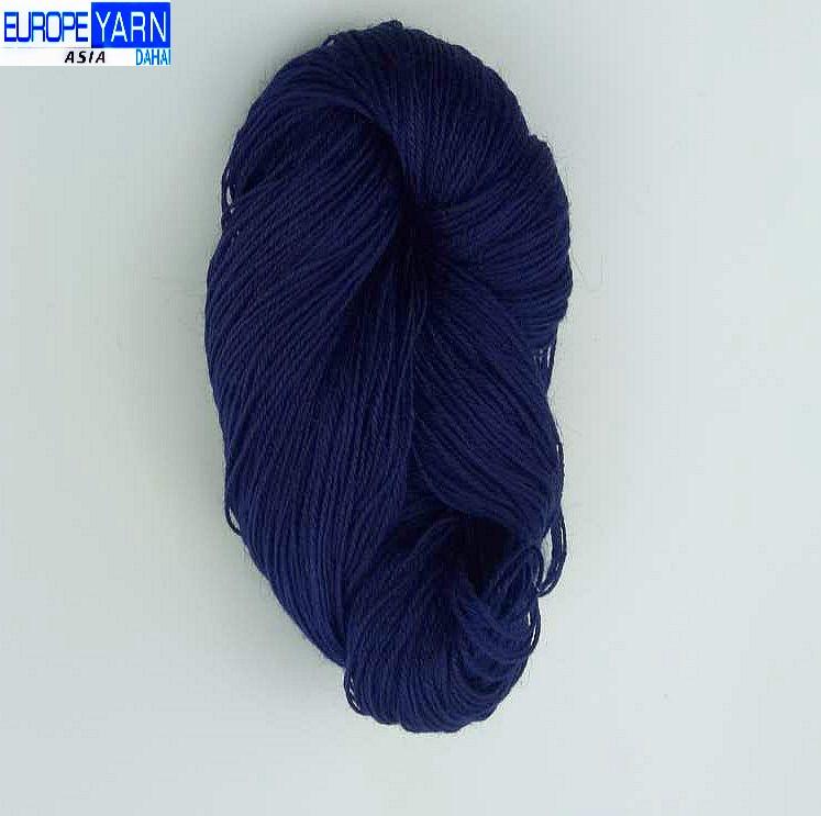 80% Angora wool 20% nylon dyed wool yarn