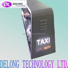 Outdoor Usage and video,animation, still images Display Function outdoor taxi top led screen