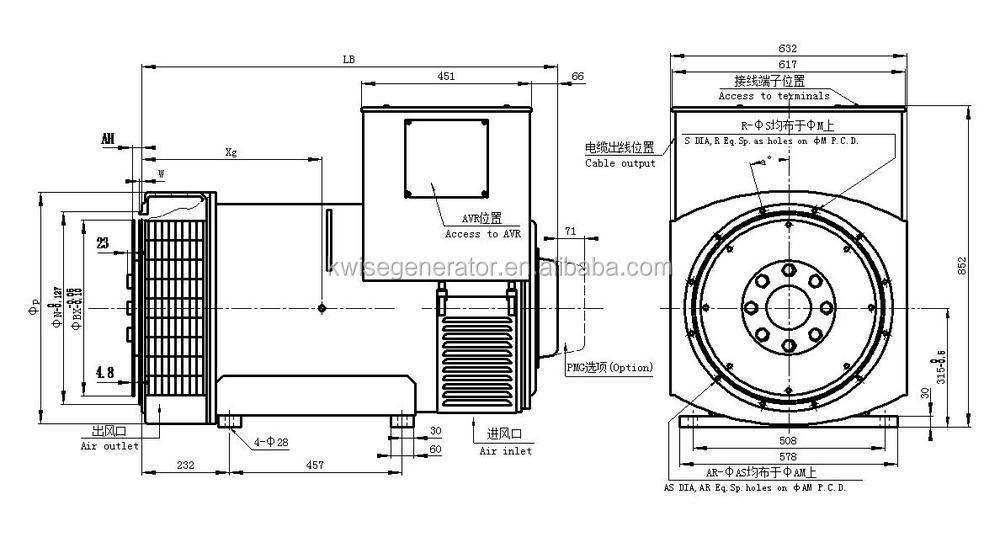 kwsie 200kw high frequency induction heating diesel generator price