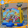 Mini inflatable jumper inflatable castle mickey mouse usa