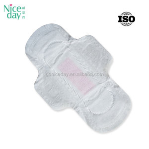 Day use female comfort day use disposable winged breathable regular thick cotton sanitary towel with negative ion brands