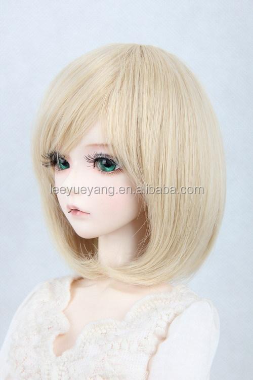 Blythe Doll Wig Short Blonde Wig Blythe Wig