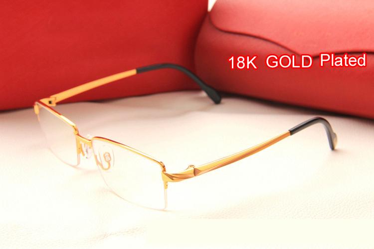 25cbf0b839 Gold Frame Eyeglasses For Men 18 Carat