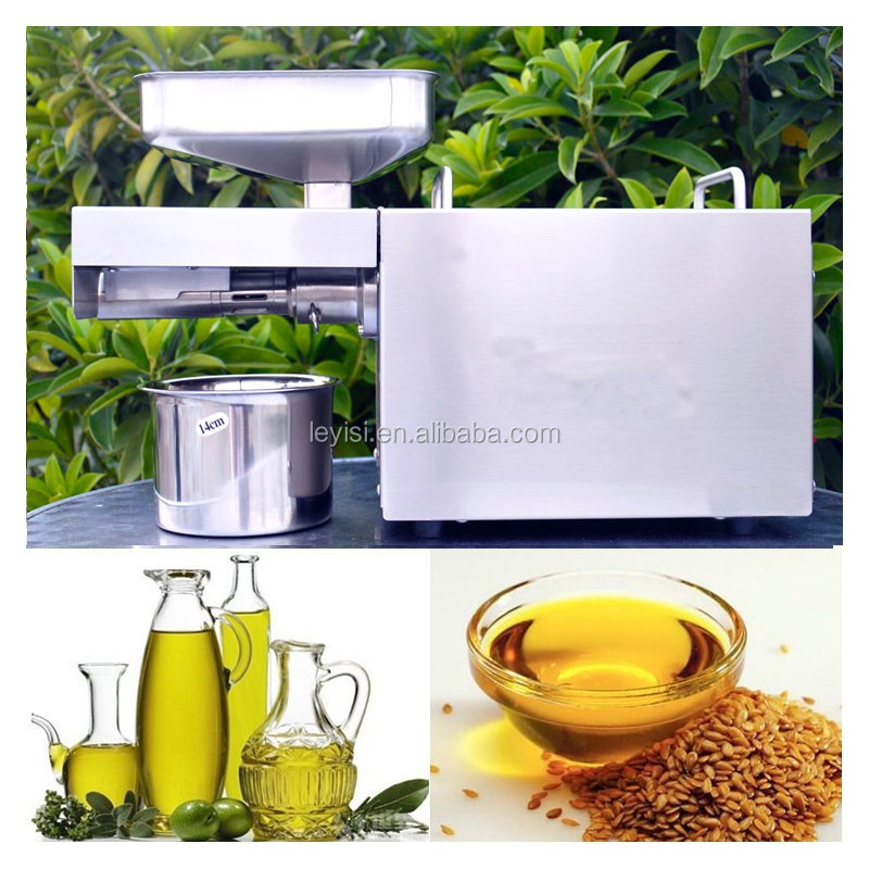 Family type cold pressing mini coconut oil press machine