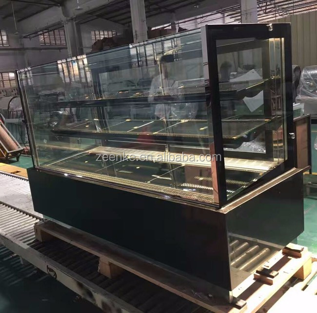 Hot sale 2 years warranty cake chiller, commercial refrigerated cabinet for pastry CE