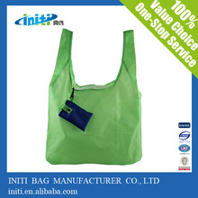 Best Recyclable Polyester Tote Foldable Shopping Bag