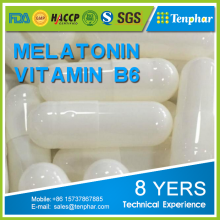 Memory Enhancer Supplement Private Label Melatonin Sleep And Vitamin B6 Pills