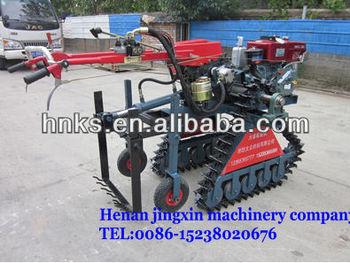 diesel engineer ginger harvester machine