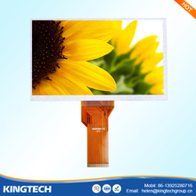 free Viewing angle 50pin 7 tft lcd 800x480 at070tn94