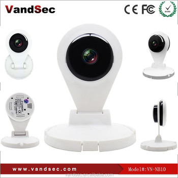 VANDSEC Hot new arrival Pan Title day night home Network wifi IP camera with alarm function