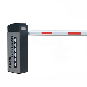 Security Traffic Barrier Gate System Parking Access Barrier Arm Straight Boom Gate Vehicle Barrier