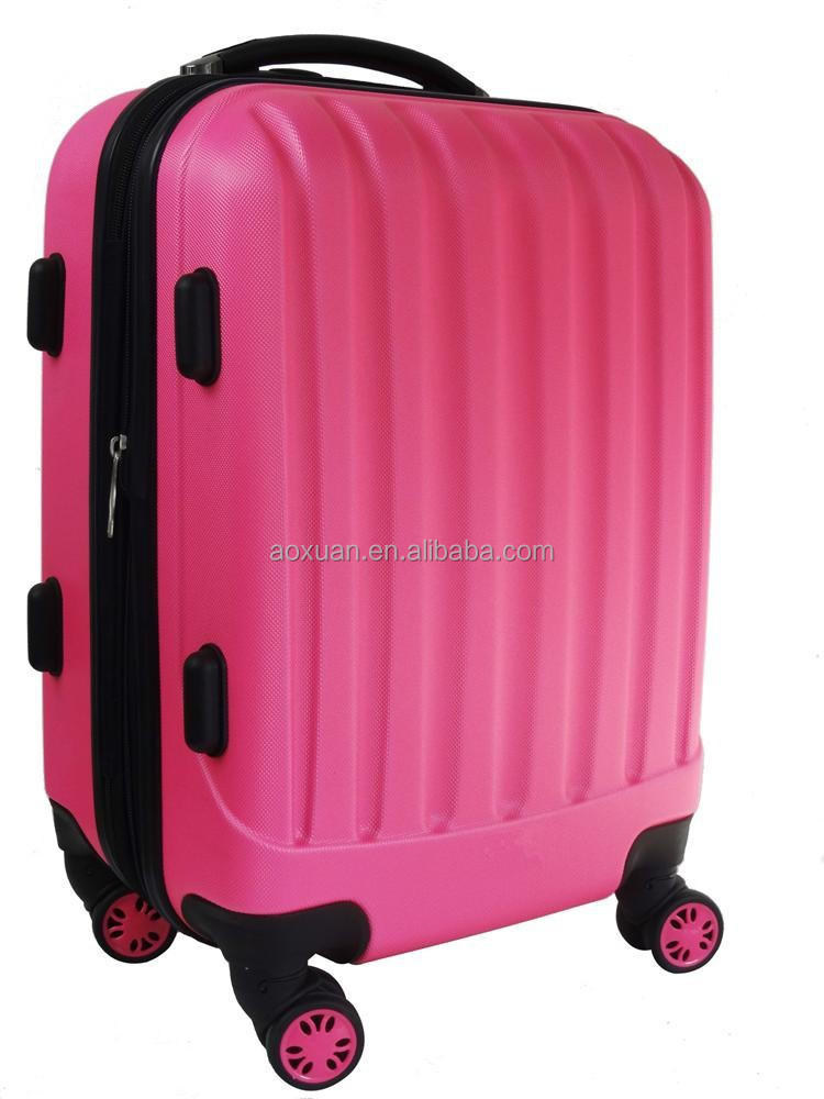 "20"" 24"" 28"" Hard Shell ABS Wheeled Suitcase Holdall Travel Hand Luggage"
