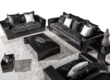 New Fashion Black Sofa Set For Home Hotel Buy New Model Sofa Sets