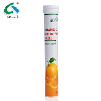 GMP Production Tablet Dosage Vitamin C 1000mg 500 mg Effervescent Tablet