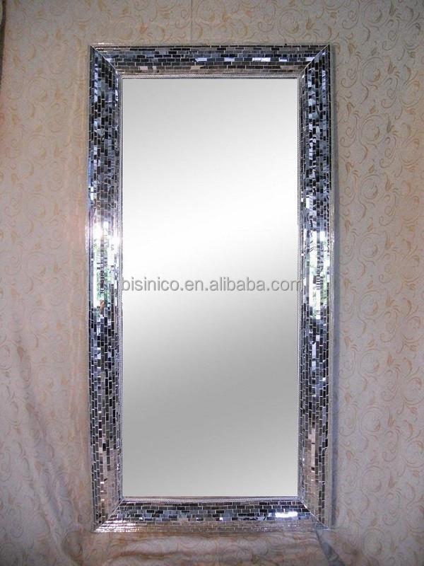 De suelo encuadre de cuerpo entero espejo de cristal del for Espejo cuerpo entero precio