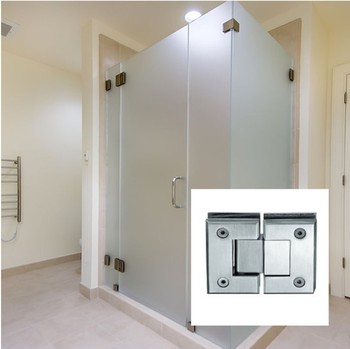Glass Pivot Frameless Glass Hardware For Shower Room Glass Pivot