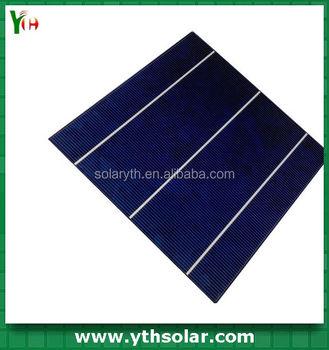 Poly Crystalline Silicon 3 Busbar Solar Cell Sharp Price