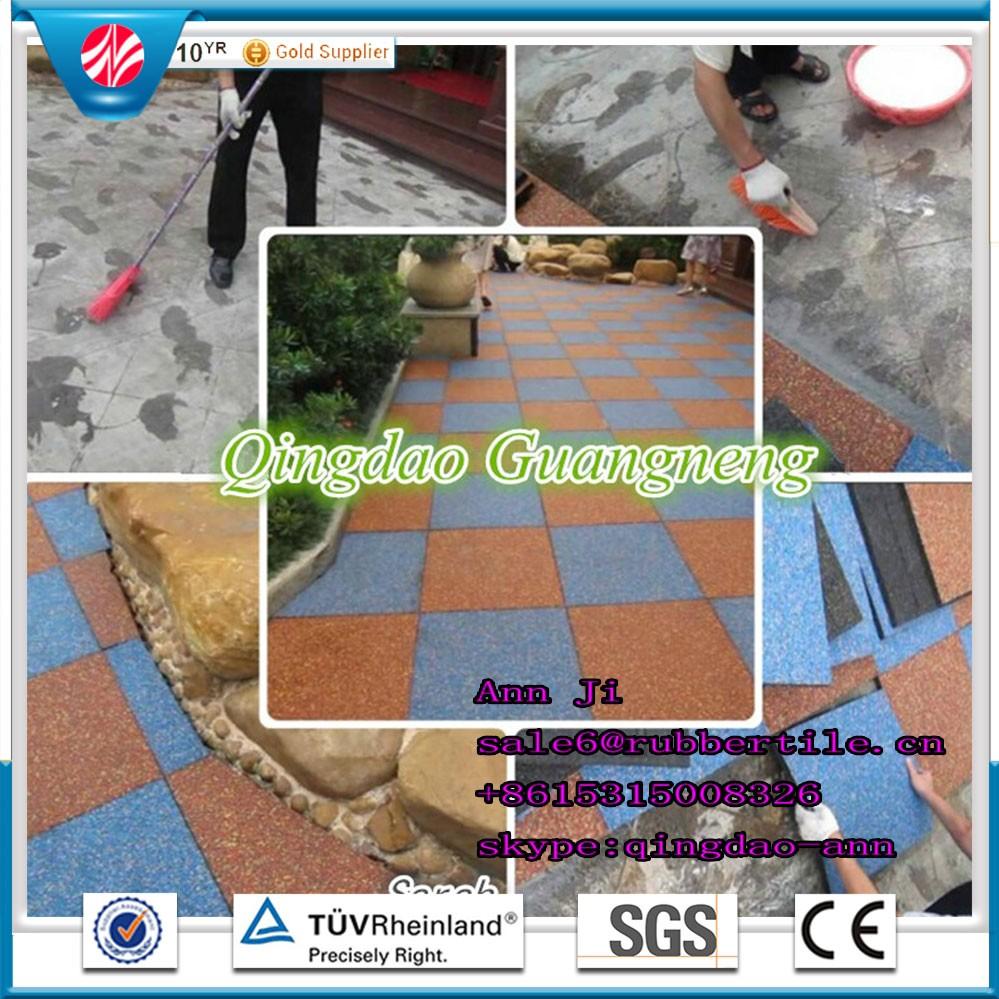 Good water drainage en1177 playground surfacerubber flooring tile good water drainage en1177 playground surfacerubber flooring tile for playground area dailygadgetfo Images