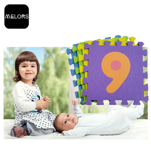 Melors Discount Numbers Soft Foam Puzzle mat educational EVA kids play mat