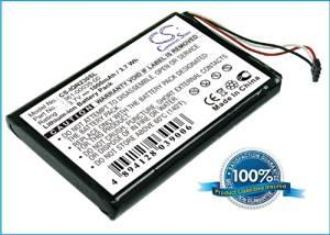 Battery2go - 1 year warranty - 3.7V Battery For Garmin Nuvi 2370, Nuvi 2300, Nuvi 2360LT