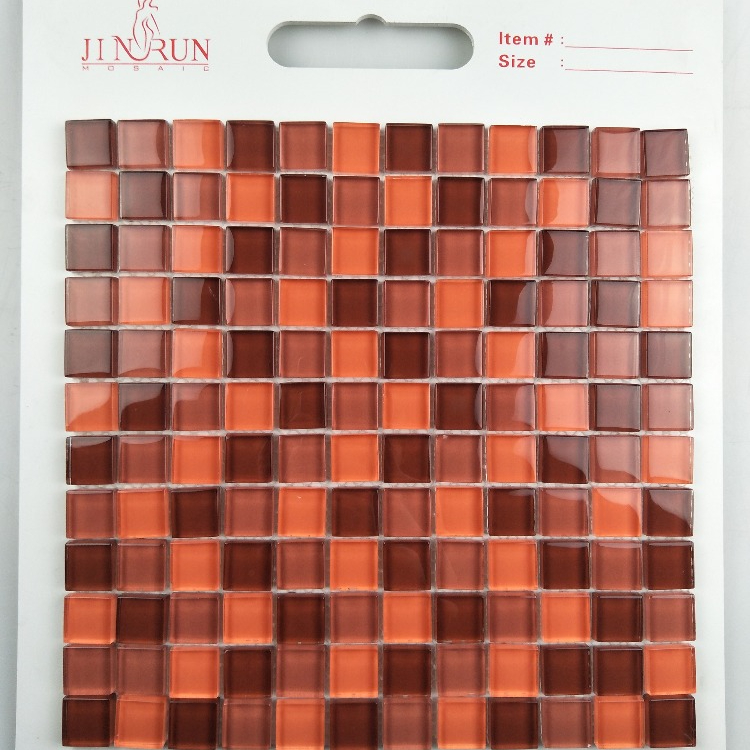 Hot Mosaic Tiles Teak Wood Price Wall Glass Mosaic