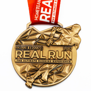 China Manufacture Cheap Wholesale Custom Metal Gold Award Marathon Running Trophies Sport Medal No Minimum Order