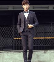 Latest 100% cotton 4 pieces slim fit wedding tuexdo casual coat pant suits for men/lesious men suits for wedding