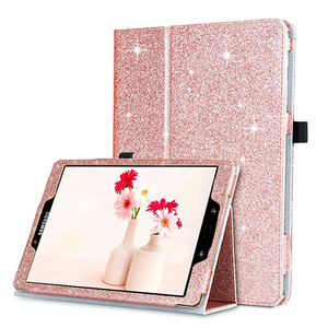 Glitter Sparkle Slim Smart Cover Stand Folio Case for Samsung Galaxy Tab S3 9.7 Inch Tablet