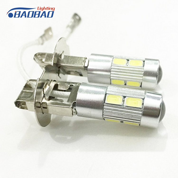 China auto led manufacturer New Car led light h1 H3 60w auto Fog led bulb pure white Golden yellow led for car