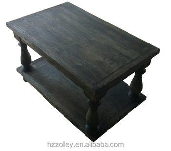 2016 French Style Teapoy Furniture Solid Wood Coffee Table