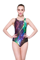 Women Sports Swimwear One Piece Swimsuit Sexy Backless Racing Competition Slimming Plus Size Bathing sports entertainment