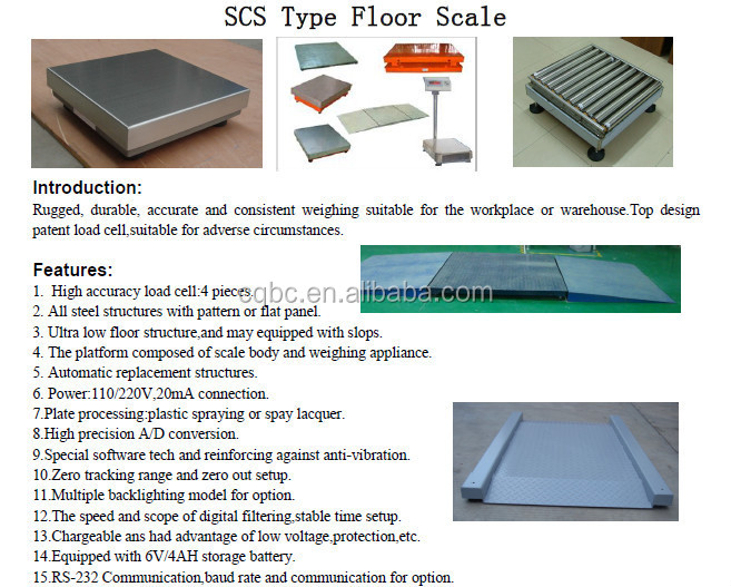 Platform Weighting Scale