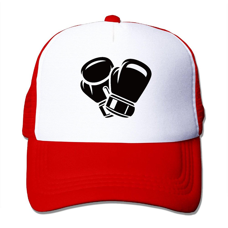 1deb93ff226 Get Quotations · Boxing Baseball Trucker Hat Mesh Cap With Adjustable  Snapback Strap